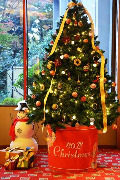 加賀温泉吉祥やまなか2014年クリスマスツリーオーナメント
