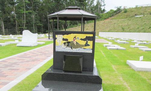 オリジナル美術陶板~霊園慰霊碑メモリアルプレート