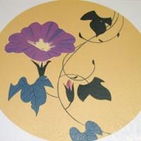 写真陶板西のぼる画歩道用装飾タイル
