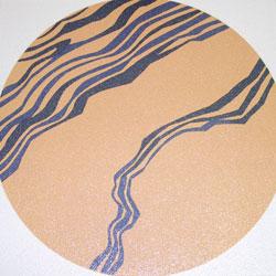 オリジナル写真陶板歩道用装飾陶板加賀の千代女