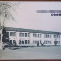 写真陶板制作例~中学校校舎