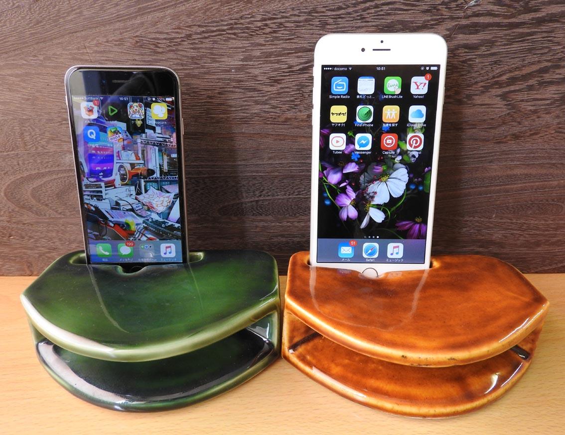 スマホ スピーカー 陶器製 iphone
