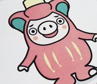 写真陶板制作例~大船渡市マスコットキャラクターおおふなトン