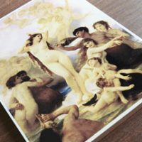 オリジナル写真陶板制作例~ビーナスの誕生