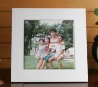 写真陶板制作例~家族写真