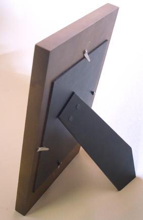 オリジナル写真陶板~坂本龍馬額装タイプ裏面